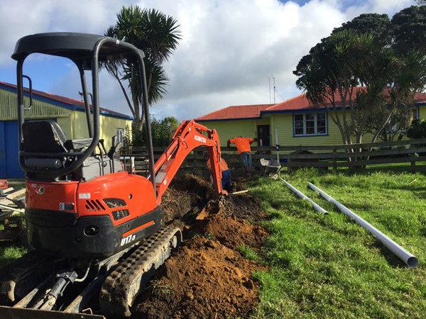 Drain laying North Shore unblocking drains Waitakere Northland